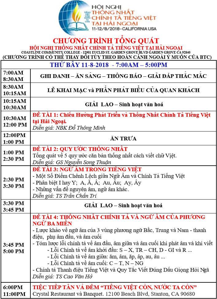 Chuong trinh thu Bay 11-8-2018 -F4