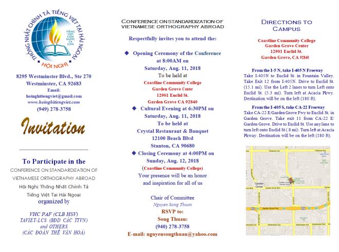 Invitation Page 1